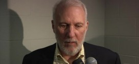 Gregg Popovich de retour sur le banc des Spurs à Boston