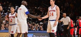Qui sera titulaire à l'intérieur pour les Knicks ?