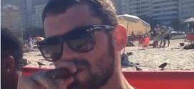 Vidéo: plage et cigare pour les Cavaliers