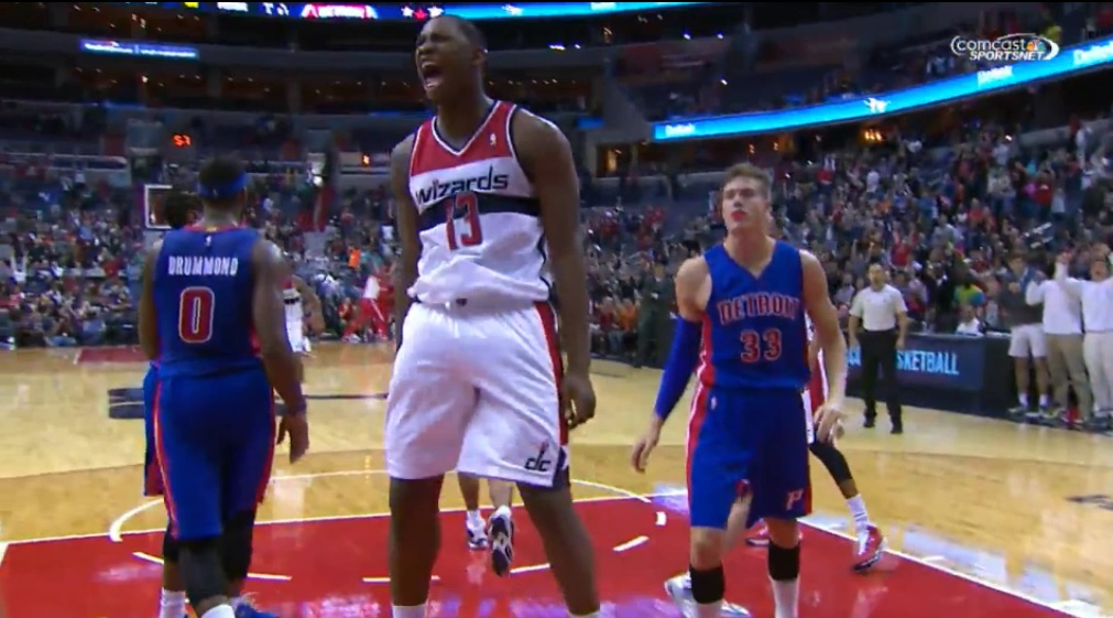 Kevin Seraphin Wizards