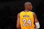 Kobe Bryant #24 of the Los Angeles Laker