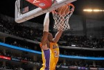 Kobe Bryant #24 of the Los Angeles Lakers