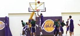 Les highlights de Kobe Bryant et des Lakers lors de leur scrimmage