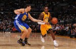 Kobe Bryant face à Klay Thompson