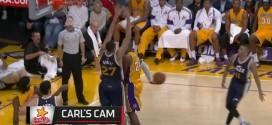 Les jolies passes dans le dos de Kobe Bryant et AJ Price