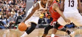 Irving et les Cavs remportent le duel face aux Bulls de D-Rose; Les Spurs renouent avec la victoire, les Knicks tombent encore