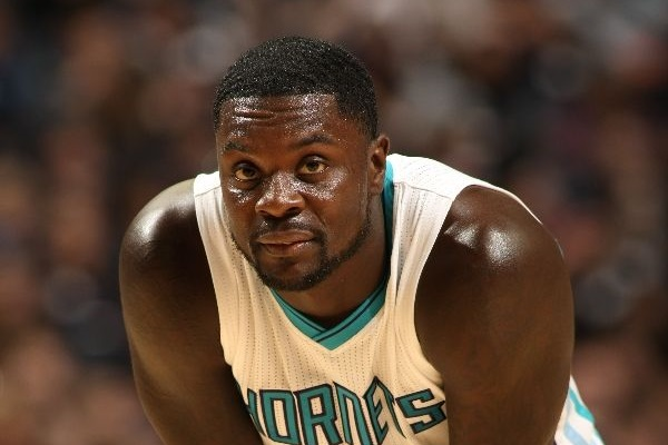 Lance Stephenson #1 of the Charlotte Hornets