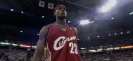 Vintage: il y a 11 ans LeBron James jouait son premier match en NBA