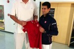 Novak Djokovic et Yao Ming