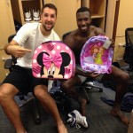 Patric Young et Ryan Anderson