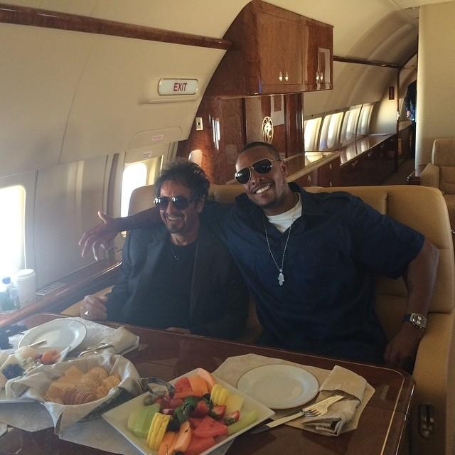 Paul Pierce et Al Pacino