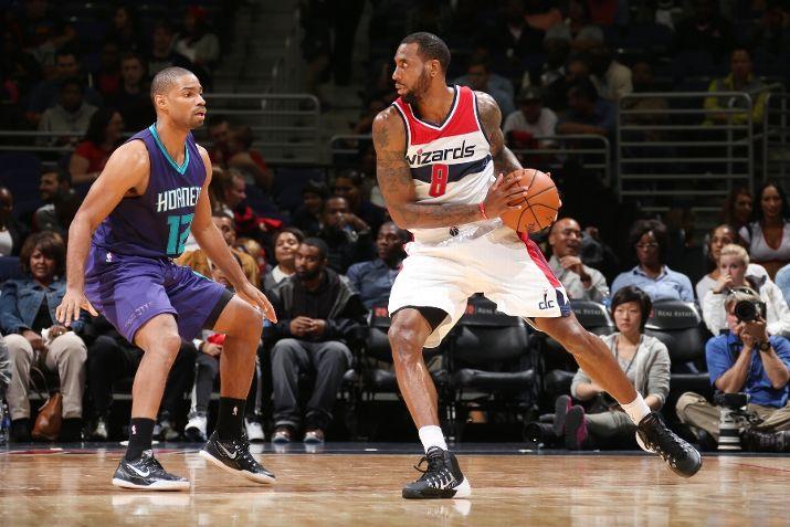 Rasual Butler #8 of the Washington Wizards
