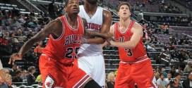 Les Chicago Bulls se débarrassent de trois joueurs