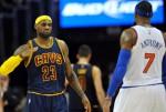 Carmelo Anthony et les Knicks gâchent la fête de LeBron James