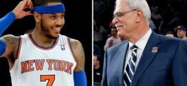Phil Jackson : «Carmelo n'a qu'effleuré la surface de sa grandeur»