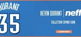 Kevin Durant va avoir une ligne de sous-vêtementschez Neff