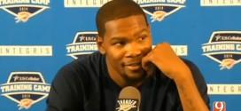Kevin Durant répond à ESPN qui le classe 8e meilleur joueur NBA