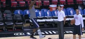 Vidéo : quelques shoots sur un pied pour Kevin Durant à Portland
