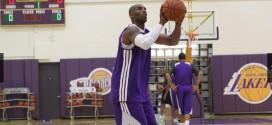 Les Lakers économisent Kobe Bryant à l'entraînement