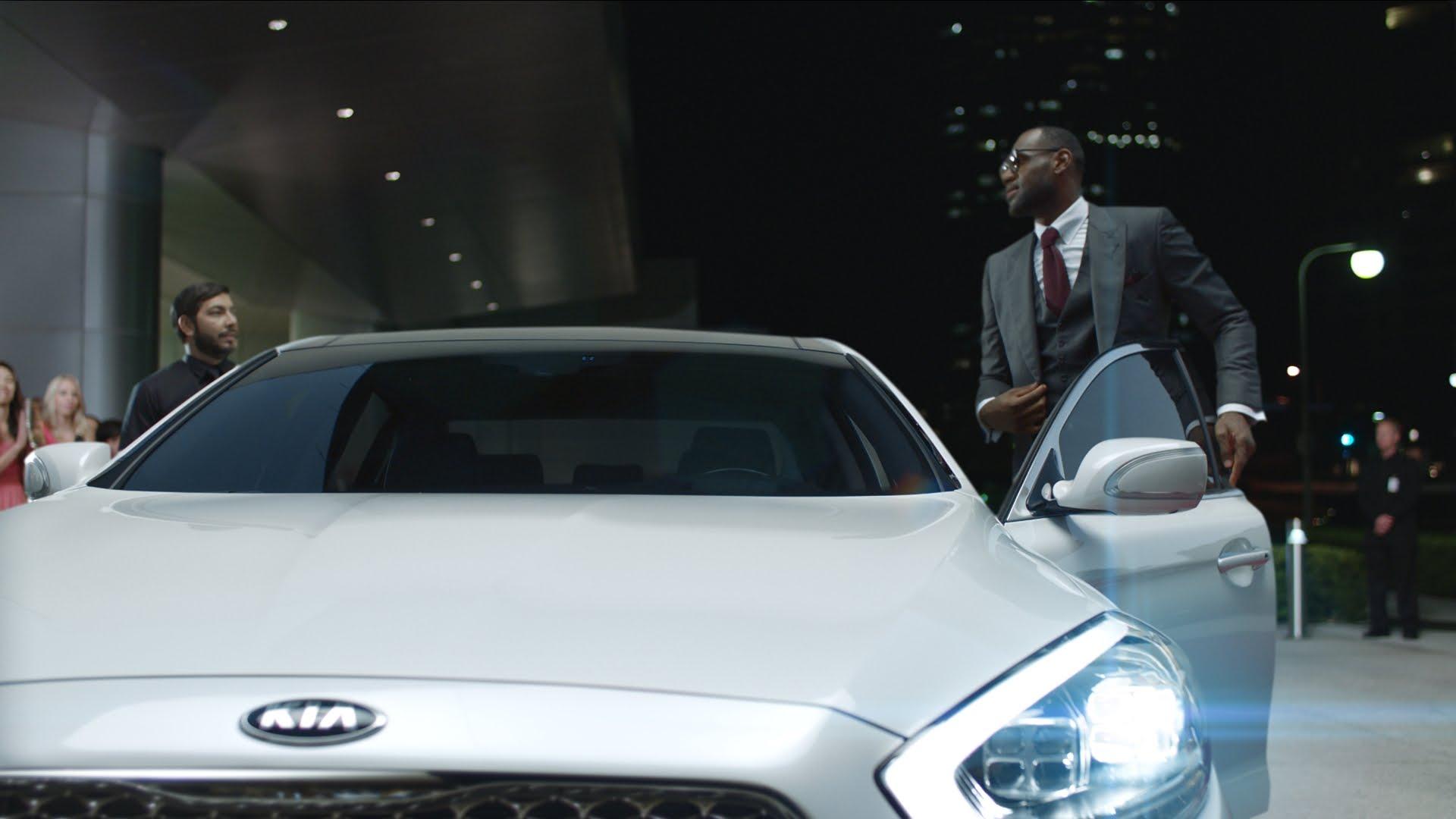 La première publicité de LeBron James pour KIA