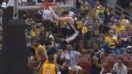 La superbe passe de Rudy Gobert pour le dunk de Gordon Hayward