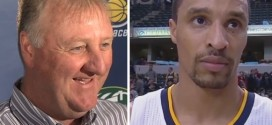 Larry Bird : «George Hill a beaucoup progressé»