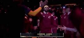 Le show d'avant-match des Cleveland Cavaliers