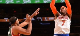 Les highlights de Carmelo Anthony (24 points) et Tim Hardaway Jr (20 points)