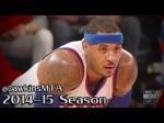 Les highlights de Carmelo Anthony: 30 points dont le panier de la gagne