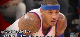 Les highlights de Carmelo Anthony (30 points dont le panier de la gagne) et John Wall (29 points)