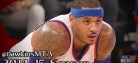 Les highlights de Carmelo Anthony (30 points dont le panier de la gagne) et John Wall (29 points)
