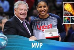 Les highlights de Maya Moore, MVP du championnat du monde