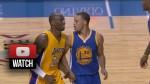 Les highlights de Stephen Curry: 25 points et 6 passes en 23 minutes