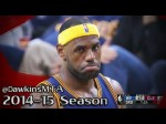 Les highlights du duel Carmelo Anthony (25 points, 6 passes) – LeBron James (17 points)