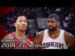 Les highlights du superbe duel Kyrie Irving (28 points) – Derrick Rose (30 points)