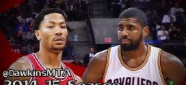 Les highlights du superbe duel Kyrie Irving (28 points) – Derrick Rose (30 points)