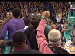 Michael Jordan explose de joie sur le Game Winner de Kemba Walker