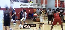 Mixtape: Brian «Tugs» Bowen, meilleur ailier de la classe 2017 ?