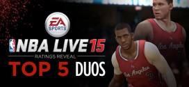 NBA Live 15: les 5 meilleurs duos