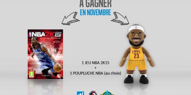 Concours de pronostics NBA du mois de novembre