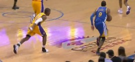 Insolite : Ronnie Price lance sa chaussure sur Andre Iguodala
