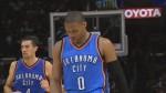 Vidéo: fracture à la main pour Russell Westbrook