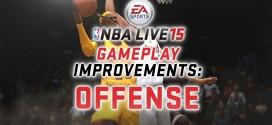 Vidéo: les améliorations offensives du gameplay de NBA Live 15
