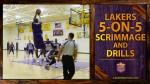 [Vidéo] Les highlights du 3e jour de training camp des Lakers