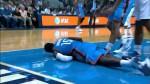 Vidéo: Reggie Jackson se blesse sur une très lourde chute