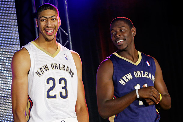 Anthony Davis et Jrue Holiday