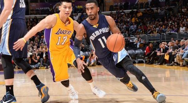 Pas d'exploit pour les Lakers face aux Grizzlies
