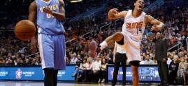 Les Suns mettent fin à la série des Nuggets