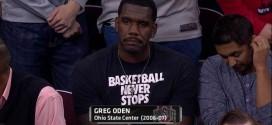 Greg Oden ne pense pas vraiment à la NBA actuellement