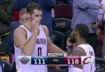 Kevin Love et Kyrie Irving